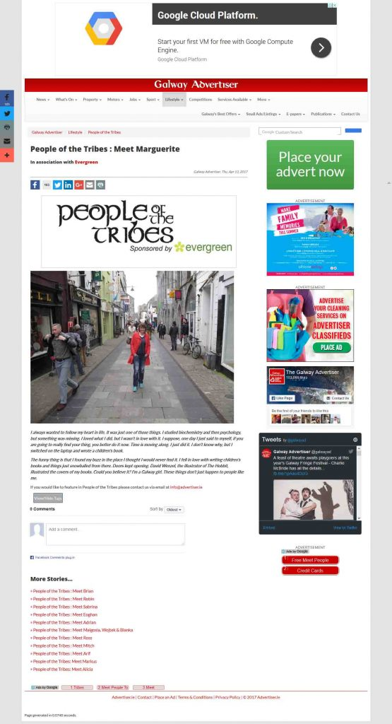 Galway Advertiser People of the Tribes
