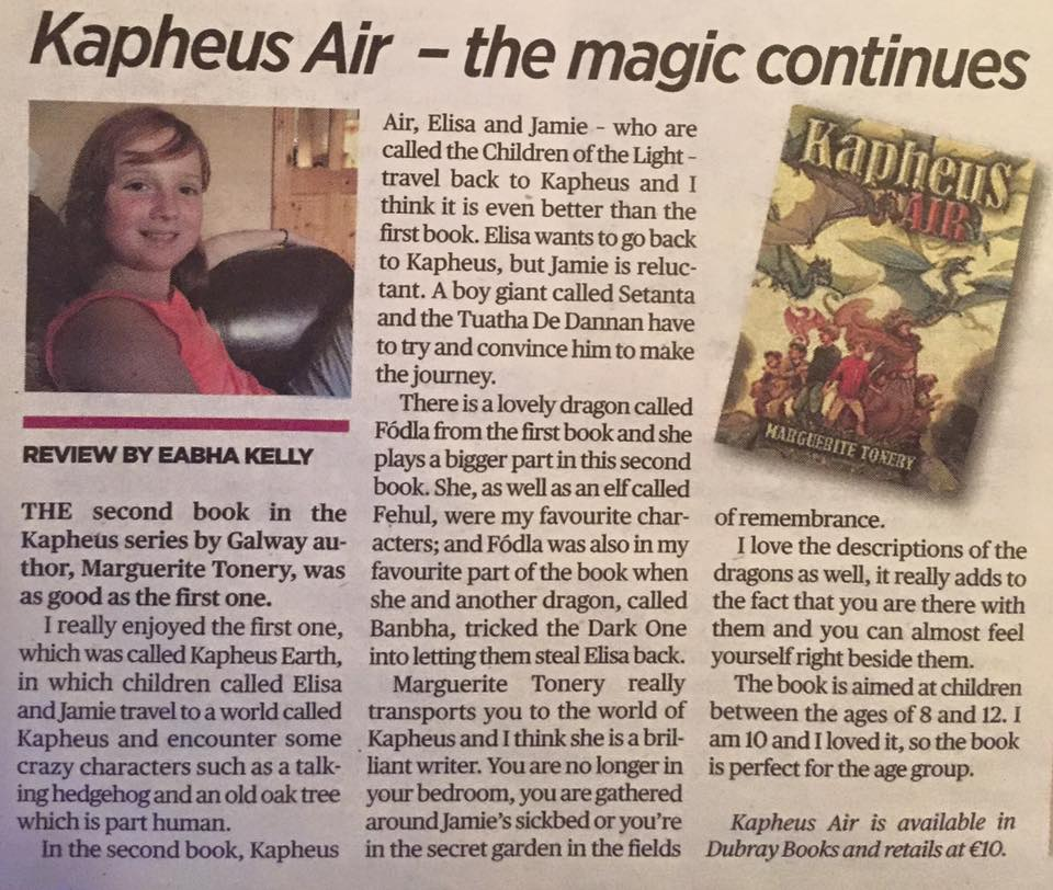 Kapheus Air Book Review