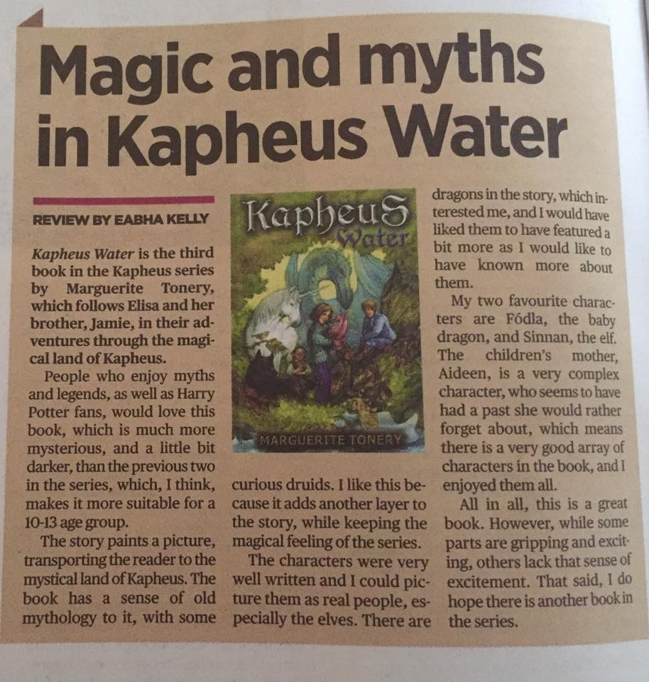 Kapheus Water Book Review