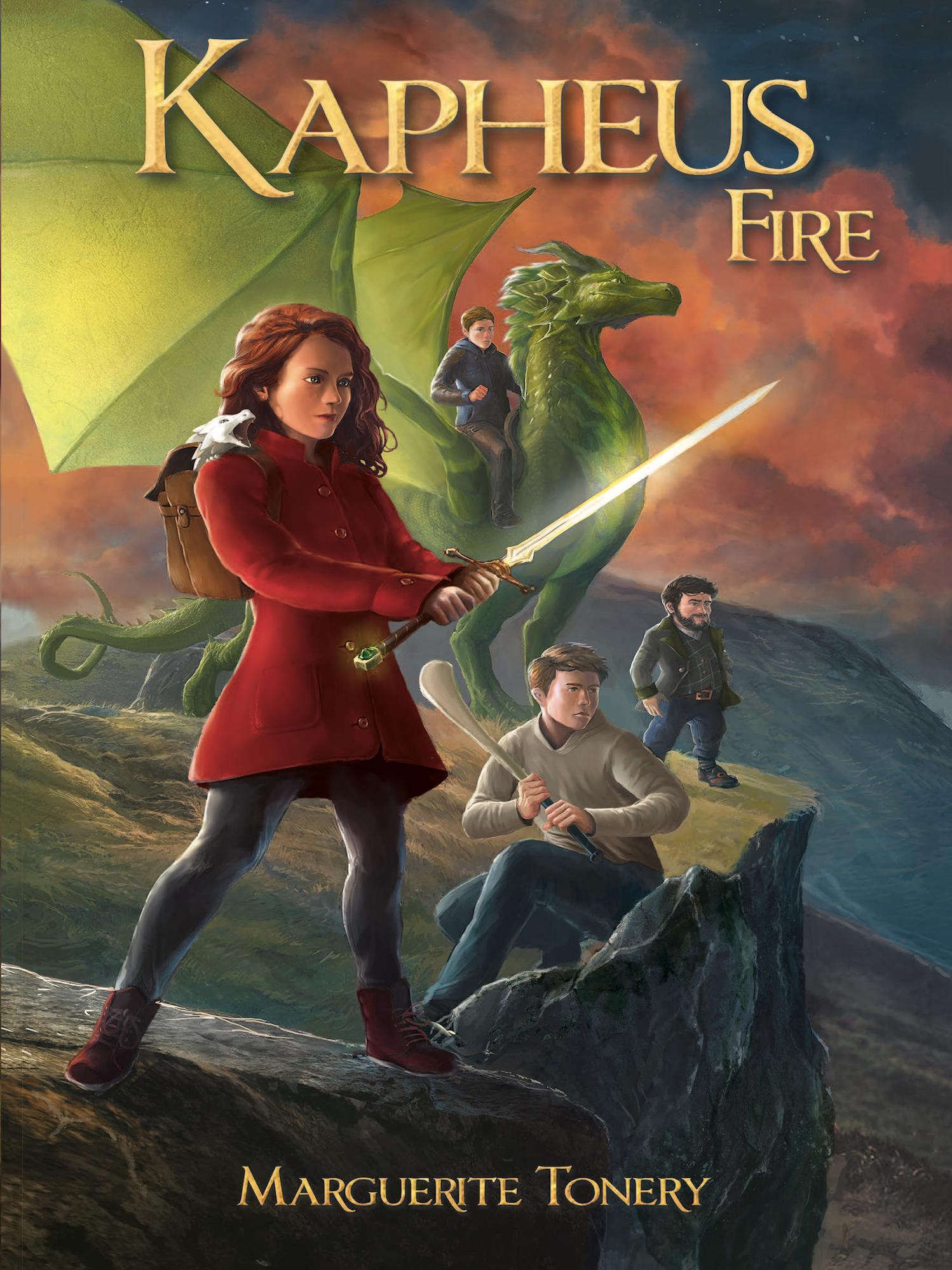 Kapheus Fire Final Cover